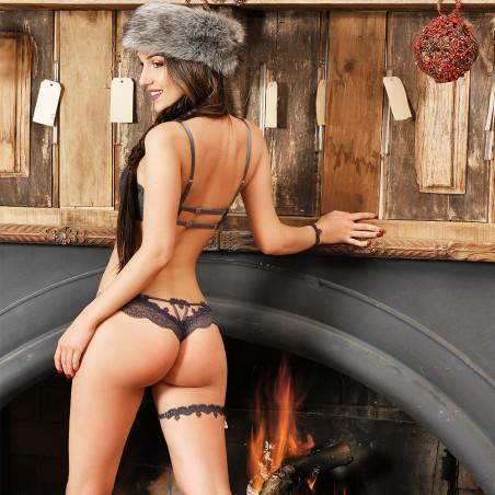 Jarretière_dentelle_grise_Chapka_de_Luxxa_lingerie