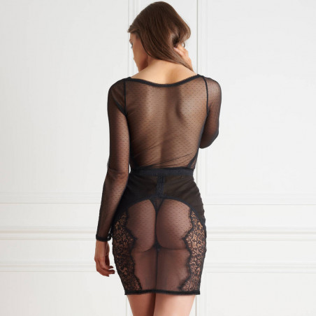 Robe_manches_longues_plumetis_Inspiration_Divine_Maison_Close_Lingerie